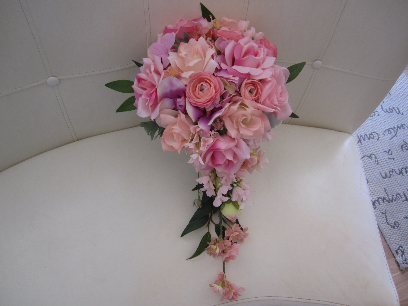 Silk Wedding Bouquets,Bridal,Bridesmaids Flowers,Silk Wedding ...